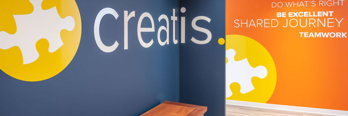 Our door is always open - join the Creatis family today!